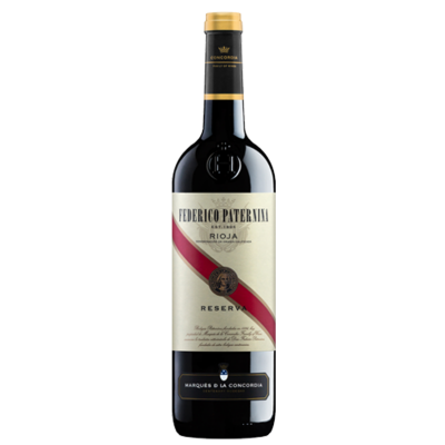 FEDERICO PATERNINA · Red Label · Reserva · 6 Bottles