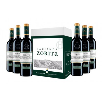HACIENDA ZORITA ∙ Crianza DO Arribes ∙ 6 botellas