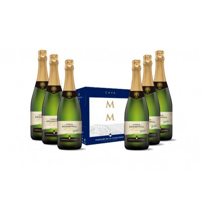 MONISTROL · Brut Nature Organic · 6 botellas