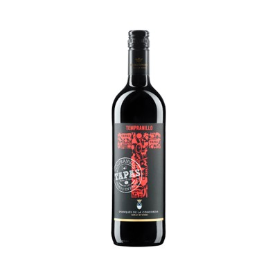 TAPAS · Tempranillo · 6 botellas